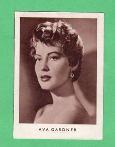 1952  Ava Gardner  German  Film Star Card  Rare