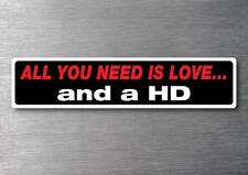 All you need is a HD sticker 7 yr water & fade proof vinyl sticker Holden