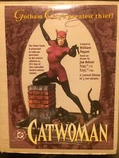 DC DIRECT CATWOMAN FULL SIZE STATUE/MAQUETTE By Paquet MIB #1929 of 3700