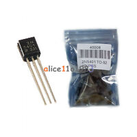 100PCS 2N5401 PNP Transistor 150V 600 mA TO-92 Package