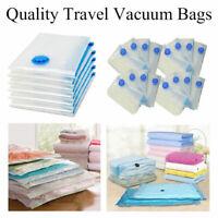 Vacuum Storage Bag Space Saving Bag Compressed Bag Clothes Organizer Travel UK