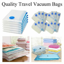 Vacuum Storage Bag Space Saving Bag Compressed Bag Clothes Organizer Portable