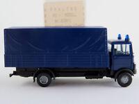 """Praliné 83801 Mercedes-Benz LP 809 Pritsche/Plane (1982) """"THW"""" 1:87/H0 NEU/OVP"""