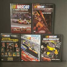 Nascar: Lot of 5 Dvds Winston Cup , Nextel cup and more. Good Condition. 2003-05