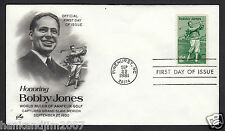 Bobby Jones 1981 Usps First Day Cover with 18 cent Commemorative Stamp