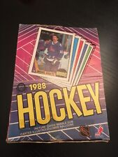 1987-88 OPC Wax Pack! Fresh Pack From A Full Box! ROBITAILLE HEXTALL OATES RC?
