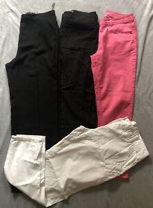 Ladies - Women's - Clothes Bundle Size Uk 12 -Eur 40 - 4 X Jeans/Trousers Bundle