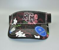 Texas A&M Aggies Top of the World Floral Adjustable Snapback Cap Visor Hat