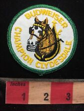 Misc Horse Jacket Patch BUDWEISER CHAMPION CLYDESDALE - Beer Brand  S70B