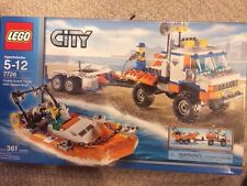 LEGO City Coast Guard Truck with Speed Boat (7726) Factory Sealed