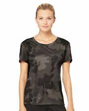 All Sport Womens Moisture Wick W1009 Ladies Size S-2XL Dri-Fit T-Shirts CLOSEOUT
