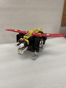 LJN/WEP Voltron Lion Force Motorized Battling Black Lion Lights and motors work
