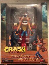 """NECA Deluxe Skateboard Crash Bandicoot 7"""" Scale Figura Azione"""