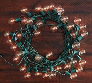 Pottery Barn Globe Indoor/ Outdoor String Lights  40 lights