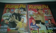 2 dvd nuovi KUNG FU INTERNATIONAL magazine N 6  e 7 ARTI MARZIALI vers Italia