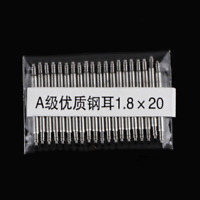 20pcs 1.3/1.8mm Double Flange Stainless Steel Spring Bar Link Pin for Watch Band