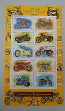 France 2002 bloc 51 neuf luxe ** BF 51 YT 3509/3517 cote 6 euros Moto anciennes