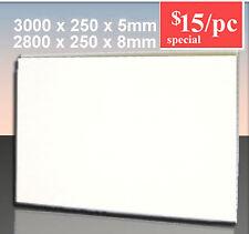 One Pack of Matt White 5mm PVC Wall Panels-25% OFF