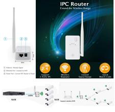 IPC ROUTER /  Ripetitore Estendere WiFi PER NVR VIDEOCAMERE SORVEGLIAZA