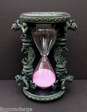 DISNEY Parks THE HAUNTED MANSION HOURGLASS Purple SAND Gargoyles NWT