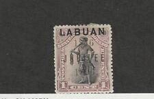 Labuan, Postage Stamp, #66 Mint Heavy Hinged, 1896 Warrior