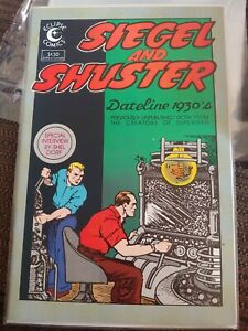 Eclipse SIEGEL AND SHUSTER Dateline 1930's #1 and #2 complete set