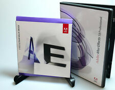 Adobe After Effects CS5.5 for Mac verified activation capable OS X Sierra retail