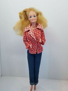 Vintage Barbie Philippines Blonde Loose Head Taped Neck Clone Clothes Hong Kong