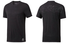 Reebok Crossfit Unknown Unknowable Tattoo T Shirt Black Men Poly Blend Small NWT