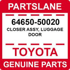 64650-50020 Toyota OEM Genuine CLOSER ASSY, LUGGAGE DOOR