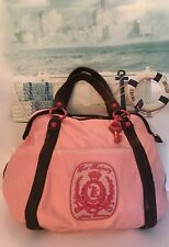 """JUICY COUTURE Vintage """"Her Majesty"""" Pink Extra Large Travel, Gym, Overnight Bag"""