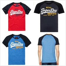Superdry Men's Vintage Logo Tee T-shirt S/Sleeve Top Tee Casual Shirt Size S-3XL