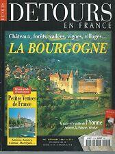 DETOURS EN FRANCE 52S.LA BOURGOGNE, PETITE VENISES DE FRANCE...ES8