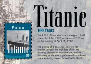 Palau - 2012 - Titanic 100th Anniversary - Souvenir Sheet  - MNH