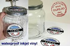 "Papilio Inkjet Printable White Vinyl 10 Sheets, 8.5"" x 11"" Waterproof"