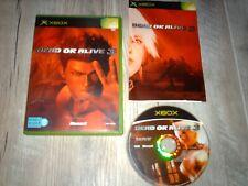 DEAD OR ALIVE 3... jeu complet...sur Xbox
