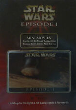 Star Wars Episode 1 Limited Edition Mini Movie Lenticular - Motion Card