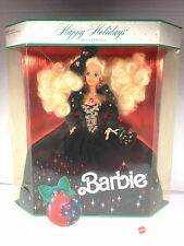 HAPPY HOLIDAYS BARBIE SPECIAL EDITION DOLL 1991 NIB #2 NEVER DISPLAYED!