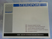 Steroplast Steropore Hypo-allergenic Dressings 10cm x 9cm - 5 Loose Dressings