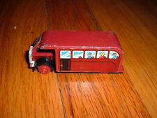 Ertl THOMAS THE TANK ENGINE & FRIENDS Limited Edition 1988 Red Bus Toy Car old