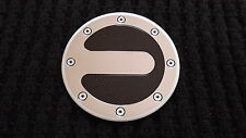 Für Golf 4 Tankklappen Tankdeckel Blende Racing Sport Design Alu Carbon Optik