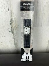 Disney Parks Limited Release Wrist Watch Mickey Mouse Leather Strap NIB