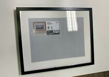 IKEA Ribba Black Picture Poster frame with white mount 40 x 50cm