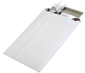 Weiße Versandtasche aus Vollpappe Toppac TP220 215x270 mm  Versandverpackung
