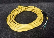 "Power Cord  SJT,18/3C, 484"" 125V 10A (M)"