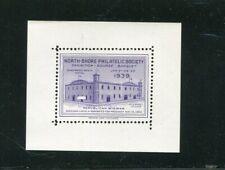 Philatelic Label Stamp North Shore Philatelic Society Il 1939 Republican Wigwam