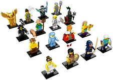 Lego 71011 Full Set of 16 Series 15 Minifigures (inc Shark, Queen, Warrior, etc)