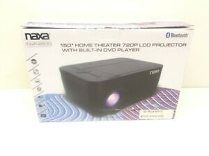 """Naxa 150"""" 720p Home Theater LCD Projector with Built-In DVD Player & Bluetooth"""