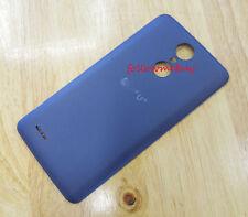 "Battery Back Door Cover For LG Aristo MS210 LV3 Phoenix 3 M150 K8 2017"" Blue"