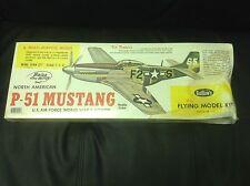 Original P-51 North American mustang model kit by guillows